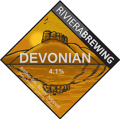 Devonian amber ale by Riviera Brewing